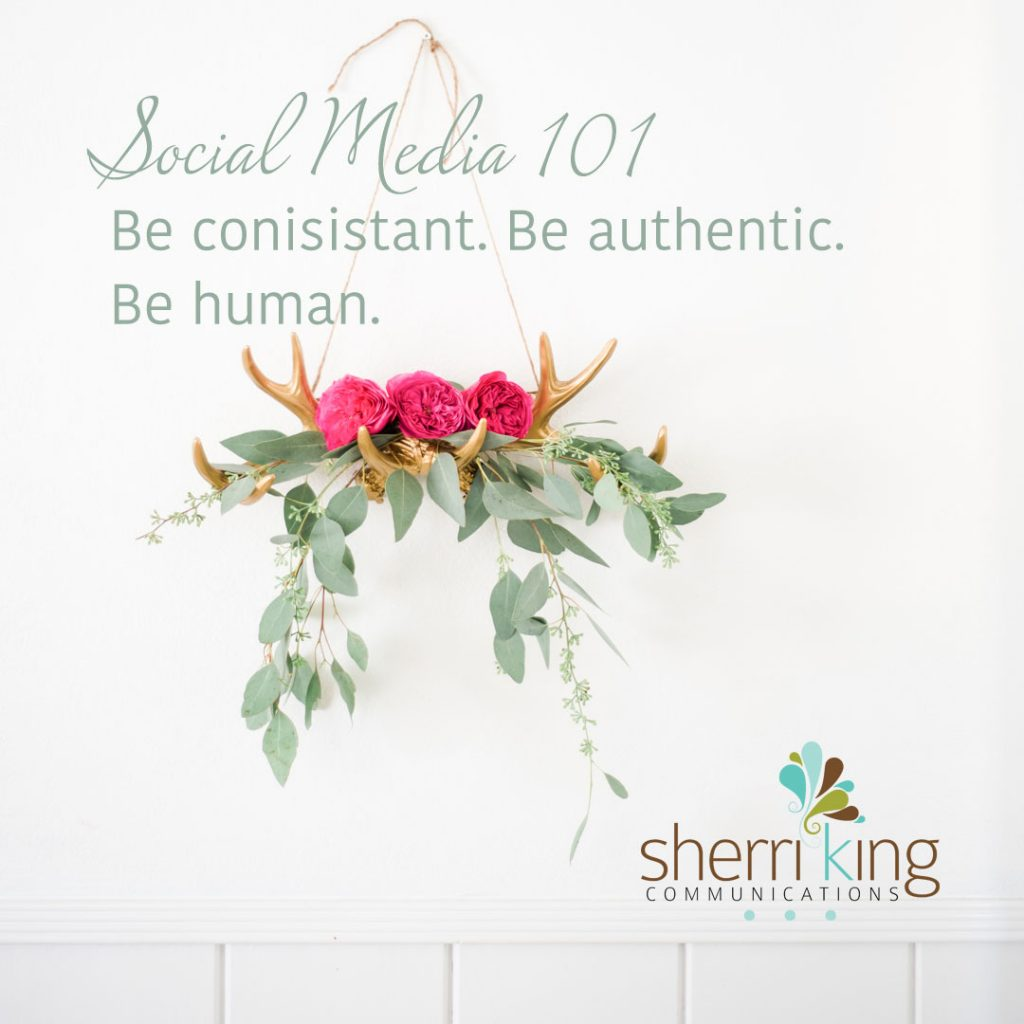 SM101 – Be Consistent