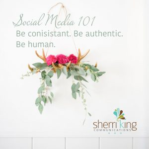 SM101 - Be Consistent