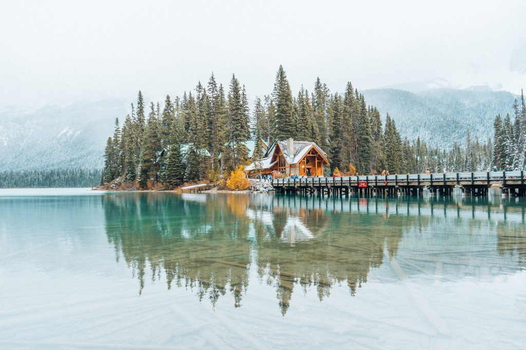 Emerald Lake Lodge, Yoho National Park BC Canada