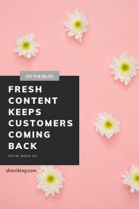 Fresh Content - Social Media 101