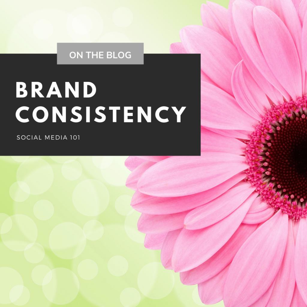 Brand Consistency – Social Media 101