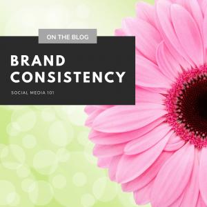 Brand Consistency - Social Media 101